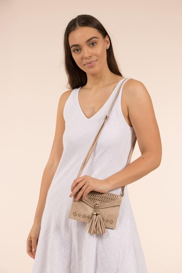 Tassel Front Bag