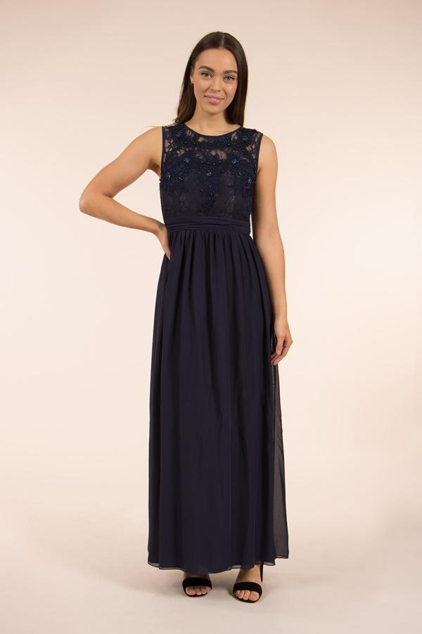 Floral Top Maxi Dress