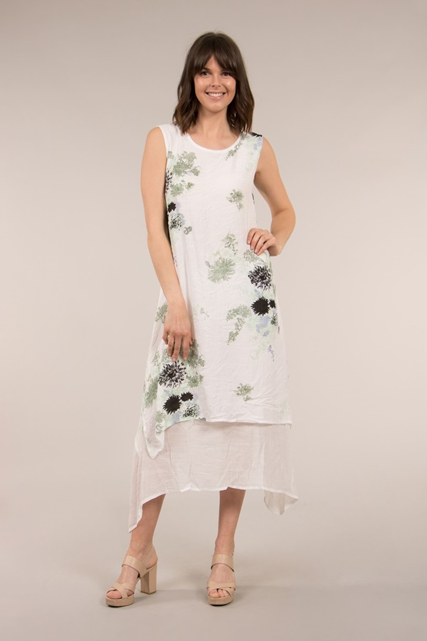 DOUBLE LAYER DRESS