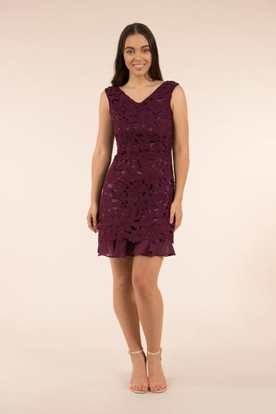 Lace & Frill Dress