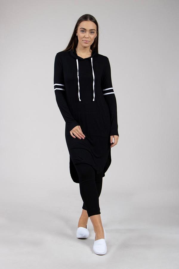 Hooded Jumper Dress
