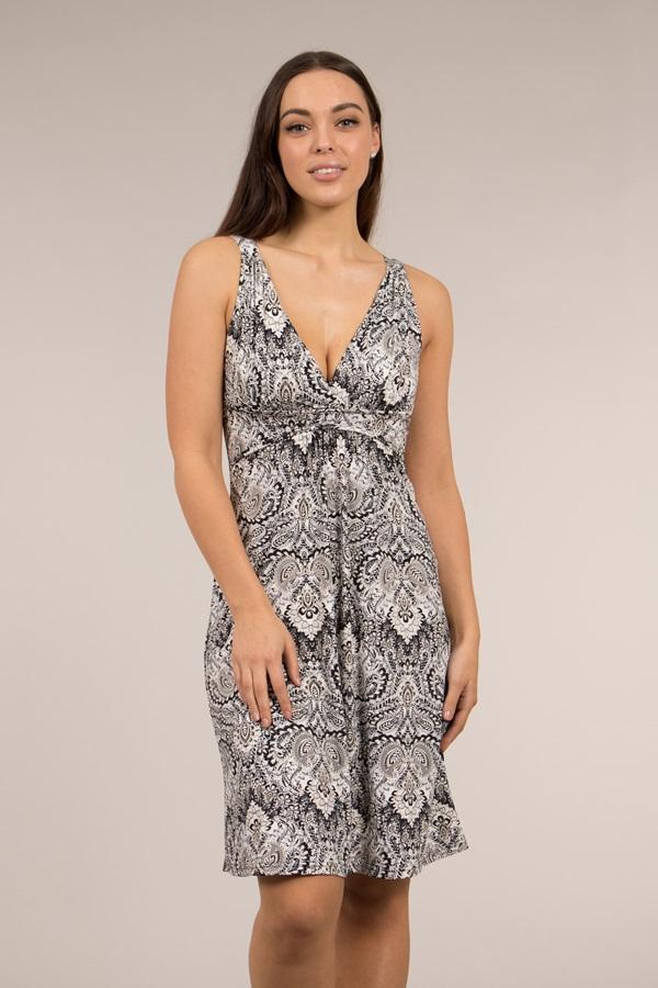 Summer Printed Midi Dress