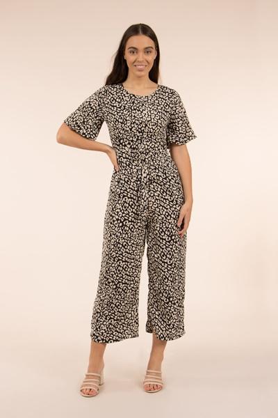 Animal Printed Jumpsuit
