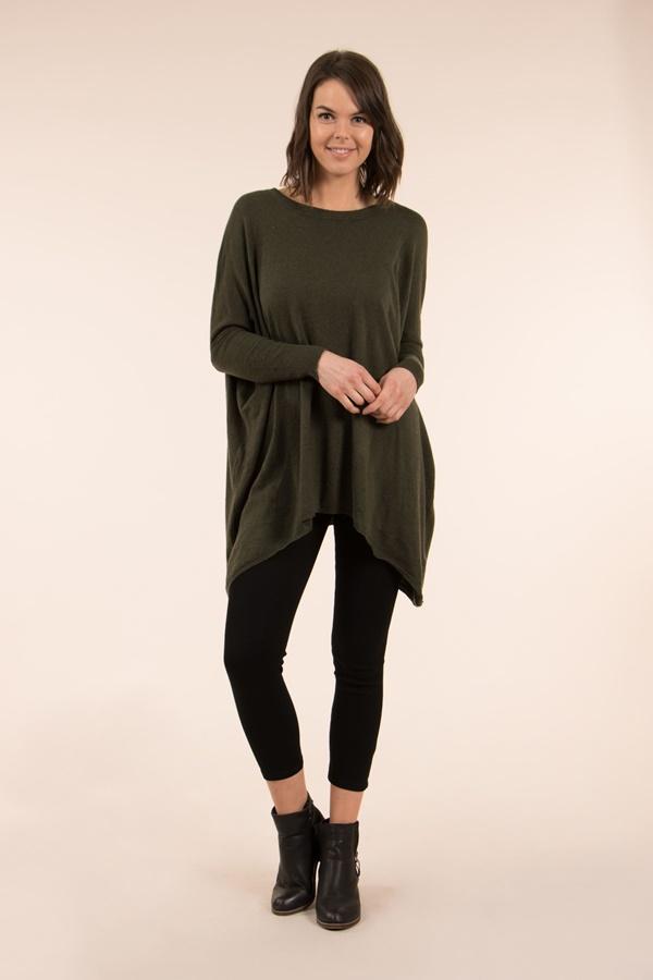 Oversize jumper
