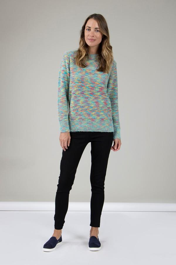 Rainbow Knit Jumper