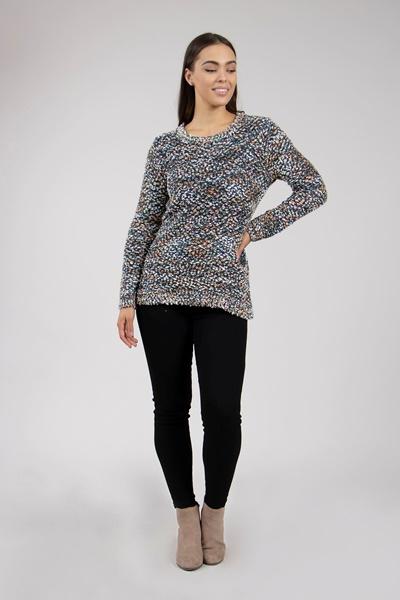 Eyelash Knit Pullover