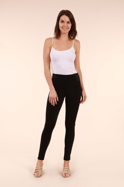 Slim Jeggings With Side Waist Band