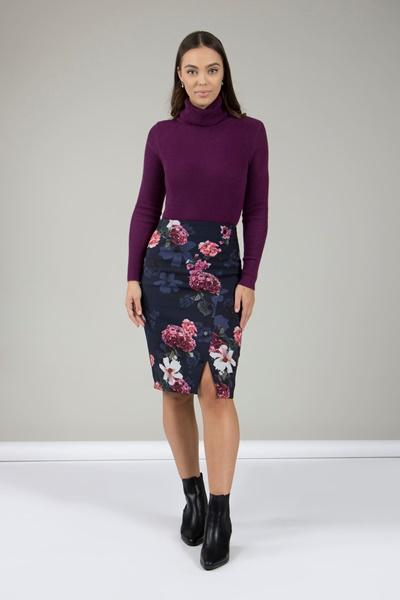 Belinda Bonded Skirt