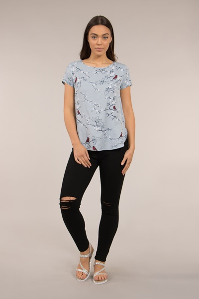 Short Sleeve Shell Top