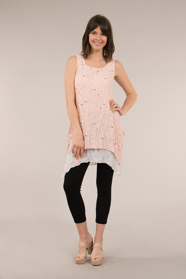 Floral A- line Tunic