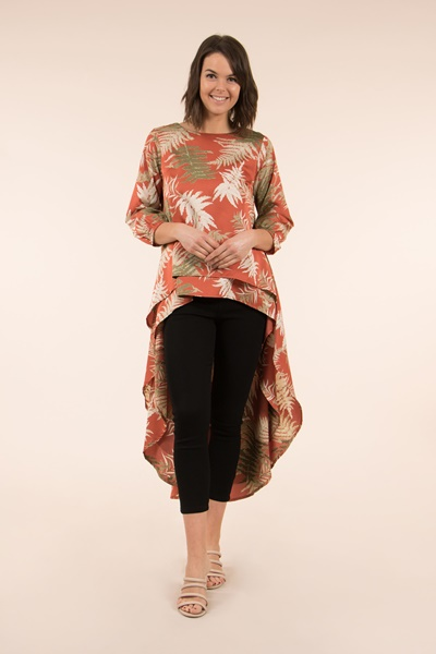 Leaf Double Layer Top