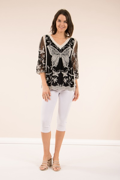 Butterfly Kaftan Top